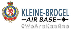 Kleine-Brogel Air Base WEBSHOP Logo
